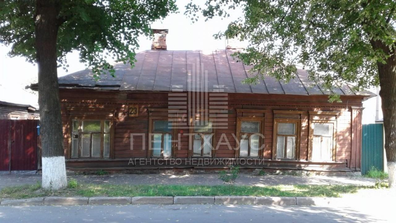 г. Владимир, Герцена ул., 23, дом кирпичный с участком 5.00 сотка на продажу