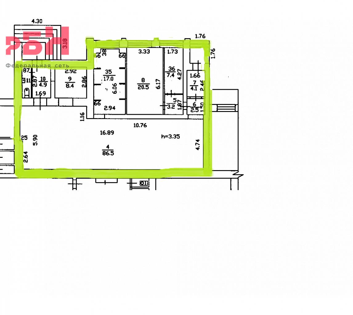Аренда коммерческой недвижимости, 157м <sup>2</sup>, Тюмень, Мельникайте ул