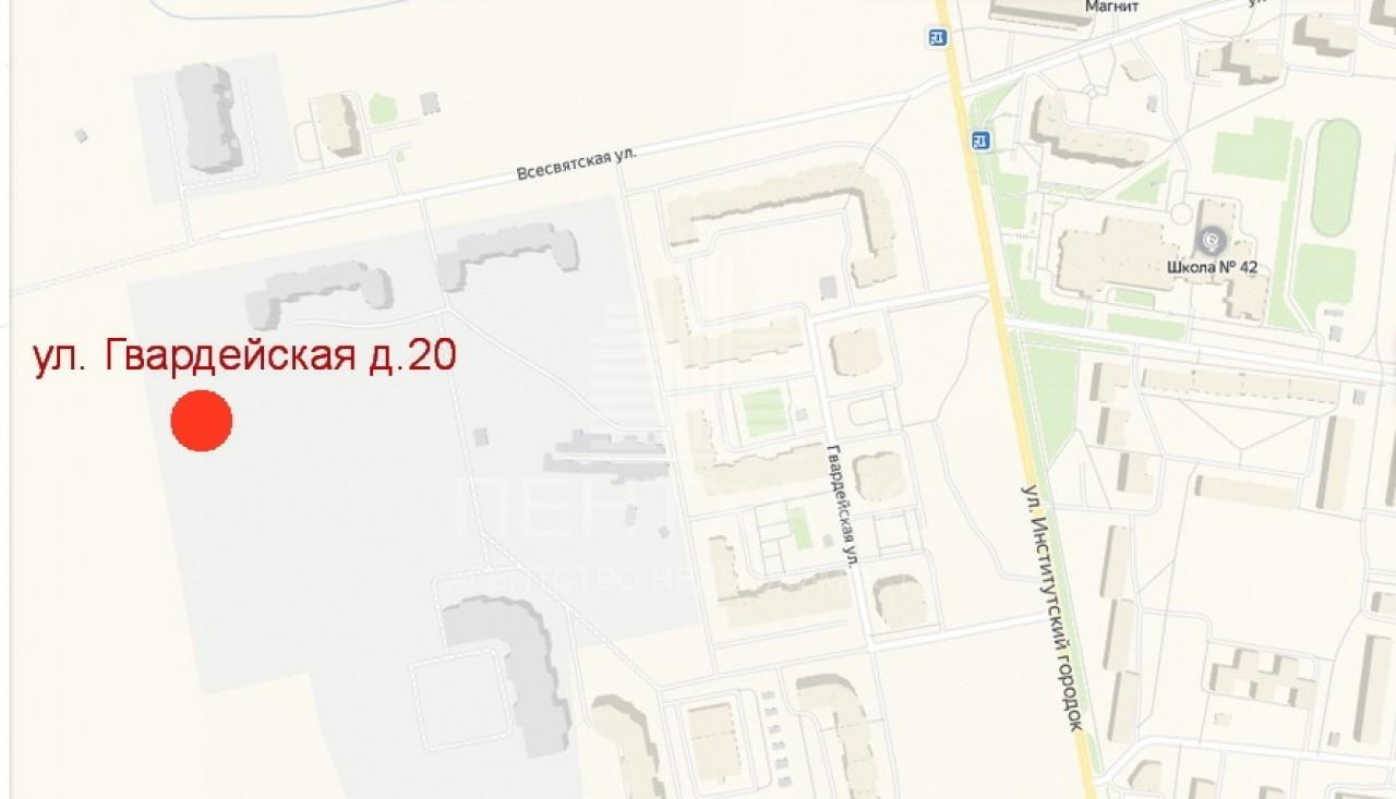 Юрьевец мкр., Гвардейская ул., 1-к. квартира на продажу