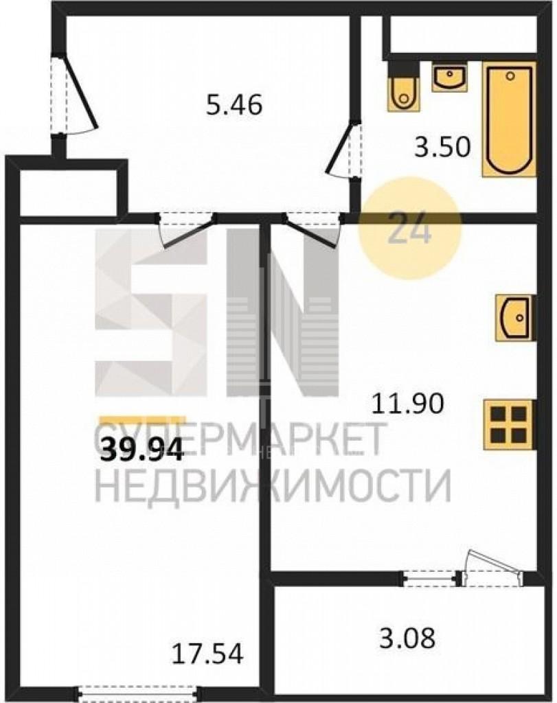 г. Владимир, Ставровская ул., 7, к 2, 1-к. квартира на продажу
