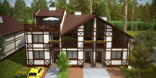 Альпийская деревня 8