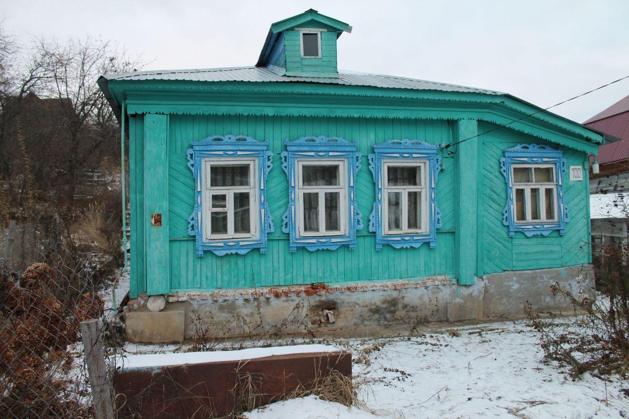 Боголюбово п., Фрунзе ул., 100, дом деревянный с участком 12.44 сотка на продажу