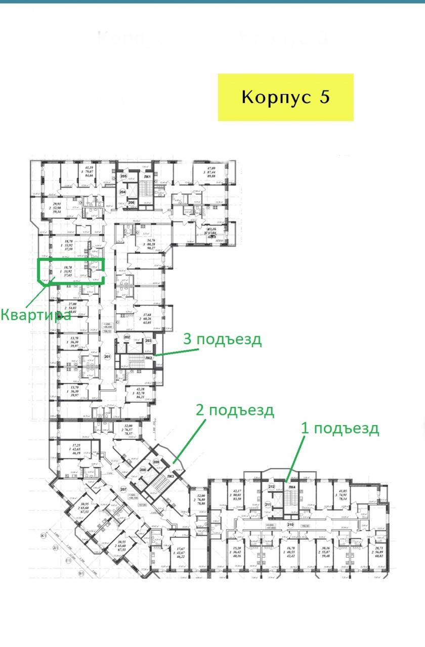 г. Владимир, Нижняя Дуброва ул., 54, к 5, 1-к. квартира на продажу