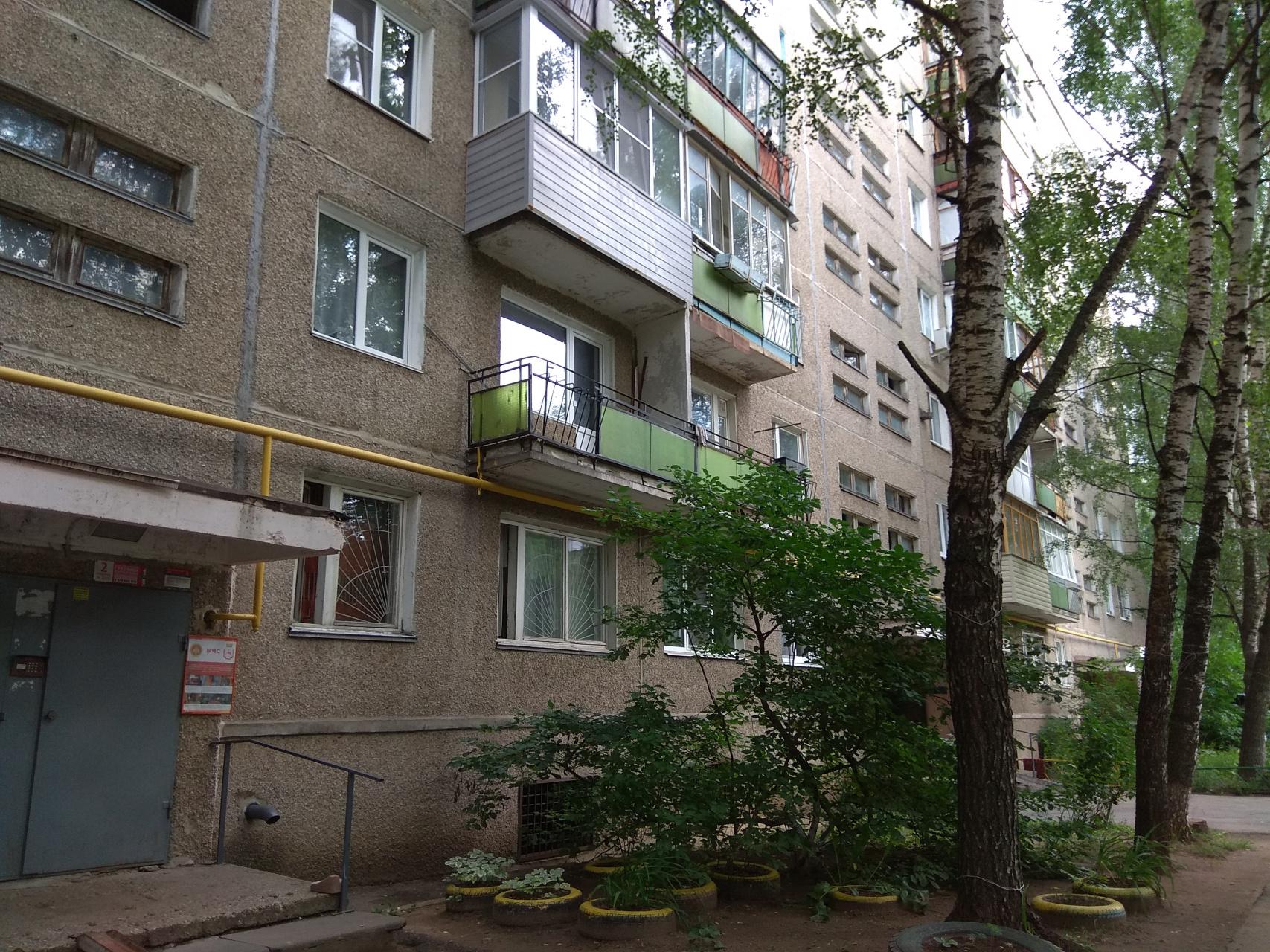 Продажа 1-комнатной квартиры Кораблестроителей пр-кт., 40, Нижний Новгород