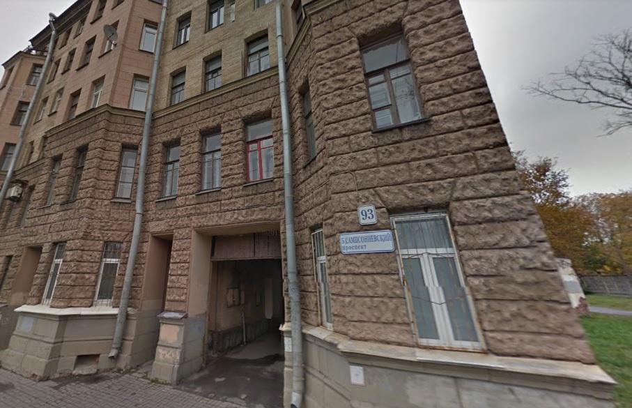 Санкт-Петербург, Большой Сампсониевский пр-кт., 93