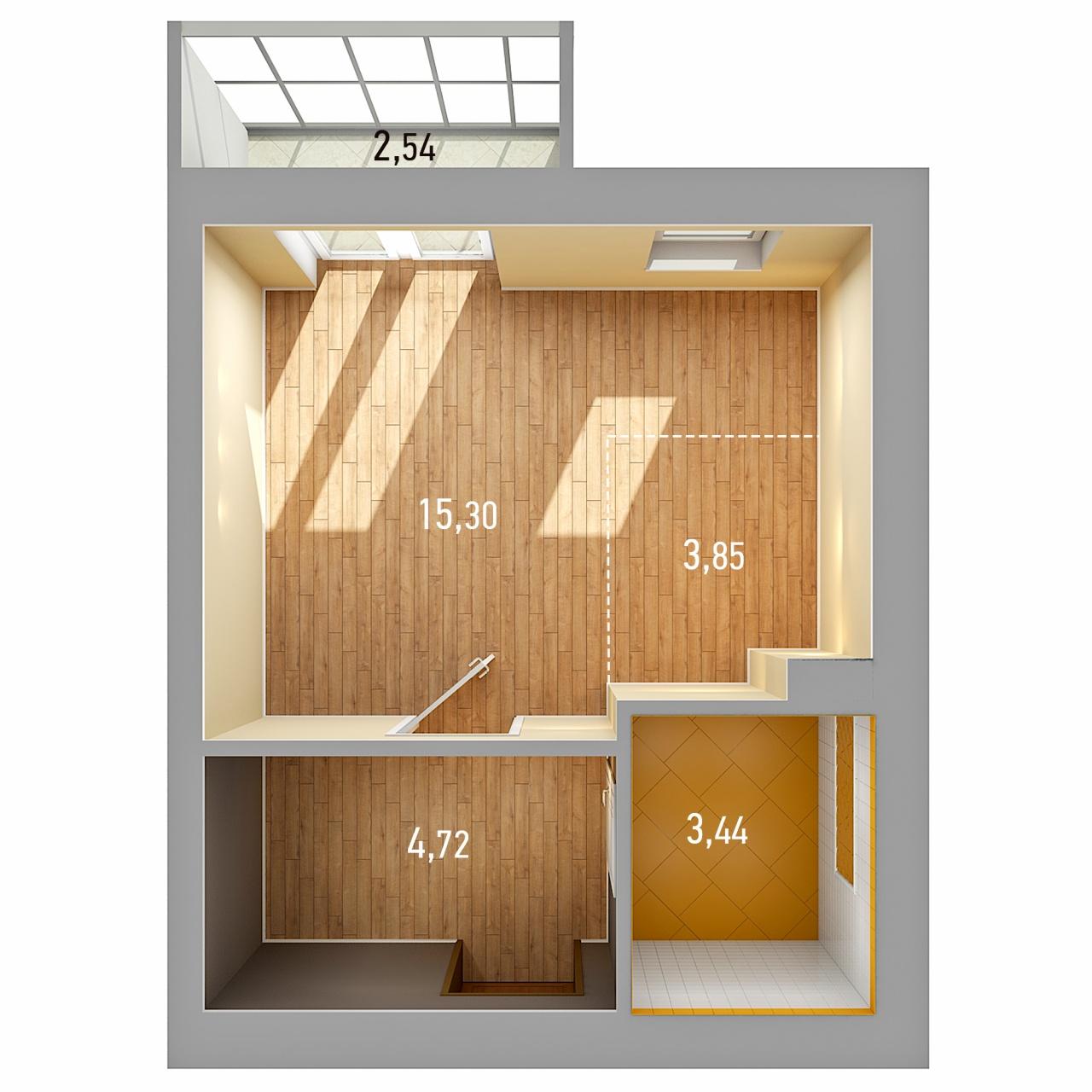 Продажа 1-к квартиры ул. Петра Гаврилова, д. 34